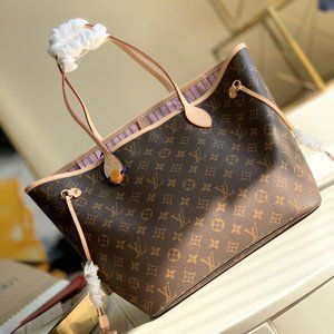 💎✨AUTHENTIC✨💎 LouisVuitton Neverfull MM Pink inside Totes bags